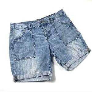 Gap Sexy Boyfriend Denim Shorts Size 12